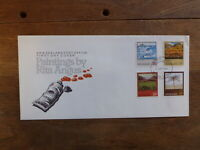 NEW ZEALAND 19893 PAINTING BY RITA ANGUS SET 4 STAMPS FDC FIRST DAY COVER