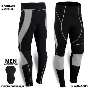 Men Thermal Winter Cycling Long Pants Bicycle Bike Tights Trousers NexWears