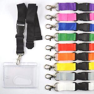 1 x Schlüsselband mit Ausweishülle EC Kartenhalter Lanyard Ausweishalter