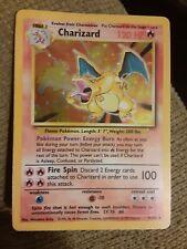 Holographic charizard 4/102