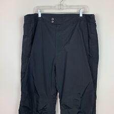Mens Black 2xl XXL Obermeyer Ski Winter Snow Pants insulated warm