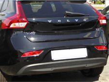 Chromstreben für Volvo V40 Reflektoren Stoßstange hinten Chrom Tuning