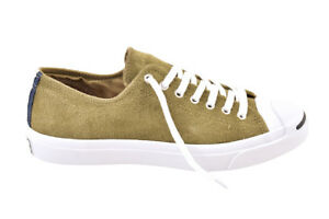 Converse Unisex Jack Purcell Signature Shoes Suede Green Size UK 8