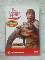 Crocodile Hunter DVD Vol 3 - Steve Irwin Aussie Adventures Volume 3 Rare !