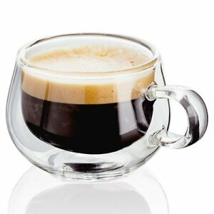 Judge Double Wall Glasses Pack 2 - Espresso  [4546H]