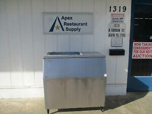 Cornelius B 1048SS Ice Machine Bin 1000 Pound Stainless Steel #5518