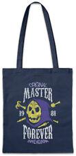 Evil Master Forever Shopper Shopping Bag Gaming Fun Gamer Skull Retro