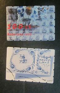 1998 Netherlands complete set Delfts Blue used