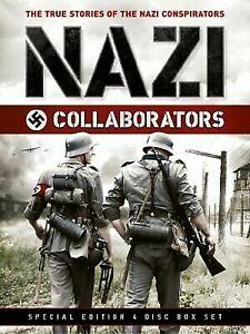 Nazi Collaborators DVD (4 DISC) Documentary War Series - MASSIVE 11 HOURS