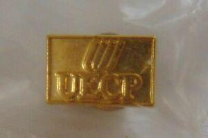 Vintage United Airlines Tulip Logo Employee Charitable Program Pin UECP NIP