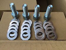 BMW E36/M3/Z3 front negative camber adjust 12.9 bolt kit STAINLESS STEEL PLATES
