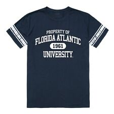 Florida Atlantic University Owls FAU College Logo Property Football Tee T-Shirt