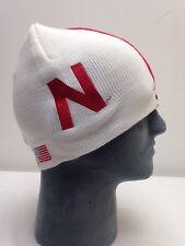 Nebraska Cornhuskers Football Helmet Beanie Hat Skin College Skull Winter NCAA