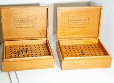 2x Watchmakers Machinists Lathe 8mm WW + 10mm D  Collet box Levin Derbyshire