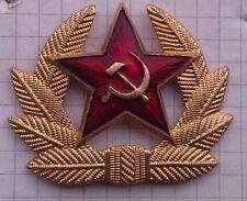 Escarapela URSS CCCP uniforme desfile ejército soviético