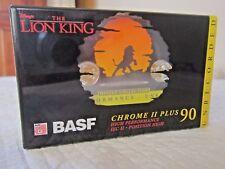 CASSETTE TAPE BLANK SEALED - 1 x BASF 90 (type II) [1995] DISNEY - THE LION KING
