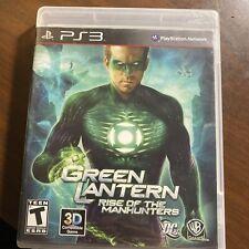 Green Lantern: Rise of the Manhunters PS3 CIB