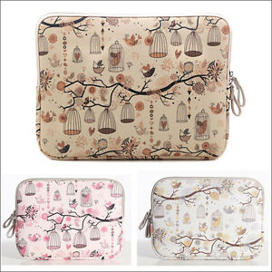 Cartoon Patten Carry Sleeve Bag Case for HP Dell Macbook Air Pro 11 12 13 15 ''