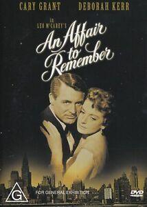An Affair to Remember (1957) DVD - Cary Grant, Deborah Kerr, Richard Denning