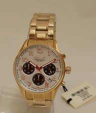 GANT Men's Watch Chronograph Gold Plated GT008003 5 ATM New OP 269 €
