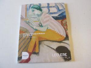 CATALOGUE  . ART IMPRESSIONNISTE ET MODERNE  ECOLE DE PARIS