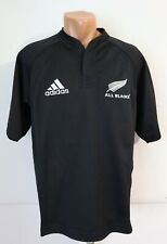 ALL BLACKS NEW ZEALAND 2005/2006 HOME RUGBY UNION SHIRT JERSEY ADIDAS VTG TOP S