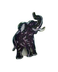 Danny Steinman Grateful Dead Trunkin Elephant Rainbow Deep Space Nebula Pin /150