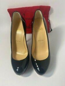 Christian Louboutin Black Patent Leather Pump Size 36