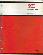 Original Case Parts Catalog No C1143 Model W26b Articulated Loader 1973