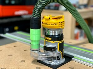 Festool Cleantec 27mm Dust Adapter for Dewalt Router DWP611 & Dewalt 20v DWC600