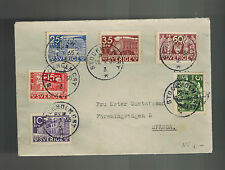1935 Stockholm Sweden Cover to Spanga