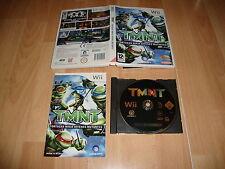 TMNT TORTUGAS NINJA JOVENES MUTANTES DE UBISOFT PARA NINTENDO Wii USADO COMPLETO
