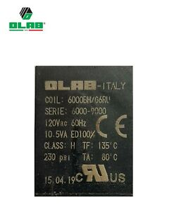 120 volt 60 hertz 10.5va - OLAB ELECTRICAL COIL for Solenoid Valve