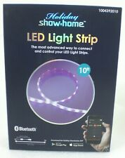 Holiday Show Home LED Light Strip 10' Feet Color Changing Bluetooth AppLights