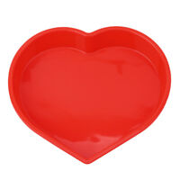 Silicone Love Heart Fondant Cake Chocolate Baking Mold Tray Bread Pan Bakeware Q