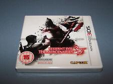 RESIDENT EVIL THE MERCENARIES 3D - Nintendo 3DS - UK PAL - NEW & FACTORY SEALED