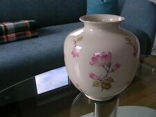Krautheim Bavaria Vase Bodenvase Floor Vase Creme Cream Blumen Flowers Gold