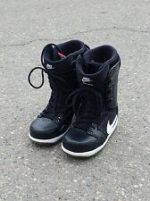 Like New - Nike SB Vapen Snowboard Boots Black/White - Men's 7