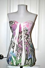 Belinda Boutique Sleeveless Tank, MultiColor, Size M