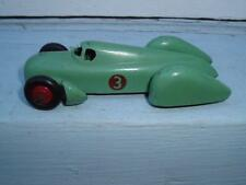 DINKY TOYS FRANCE #23D ORIGINAL AUTO UNION IN USED CONDITION VINTAGE 2 NEW TYRES