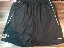 Nike Mens Purdue Boilermakers Basketball Shorts Black 4xl Gold on field 4X