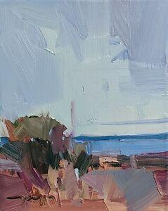 JOSE TRUJILLO Oil Painting IMPRESSIONISM CONTEMPORARY Modern Landscape NR