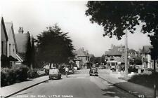 Little Common Cooden Sea Road Motor Car Bexhill on Sea unused sepia RP old pc