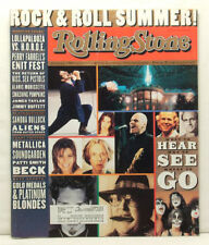 Rock And Roll Summer ROLLING STONE #736 Soundgarden Metallica Beck June 13 1996!