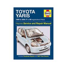 Toyota Yaris 1.0 1.3 Petrol 1999-05 (T to 05 Reg) Haynes Manual