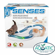 FREE  SHIPPING CATIT SENSES SUPER ROLLER CIRCUIT Interactive Toys Cats & Kittens