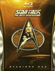 STAR TREK THE NEXT GENERATION STAGIONE 2 COFANETTO 5 BLU RAY DISC NUOVO!