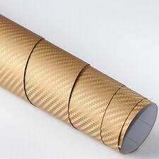 3,94€/m² Deko Klebe Folie Carbon Gold selbstklebend 100x152cm Auto Wrapping