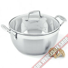 100% Genuine! SCANPAN Impact 32cm 8.5L Stew Pot Stainless Steel! RRP $189.00!