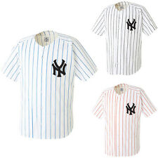 Nwt NY NewYork Yankees Baseball Jersey Open T-shirts Team Sports Wear Top Shirts